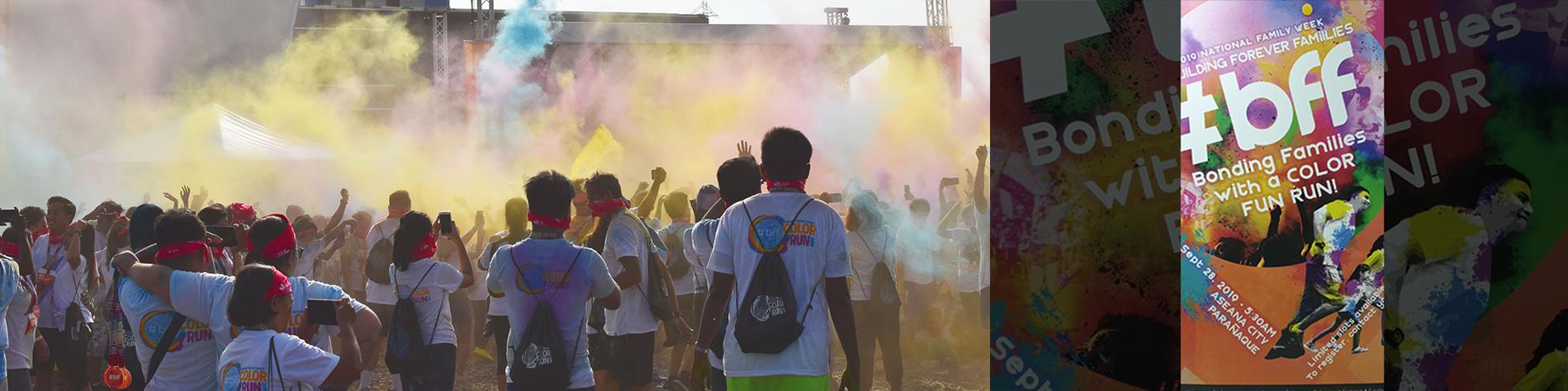 BFF Color Run 2019